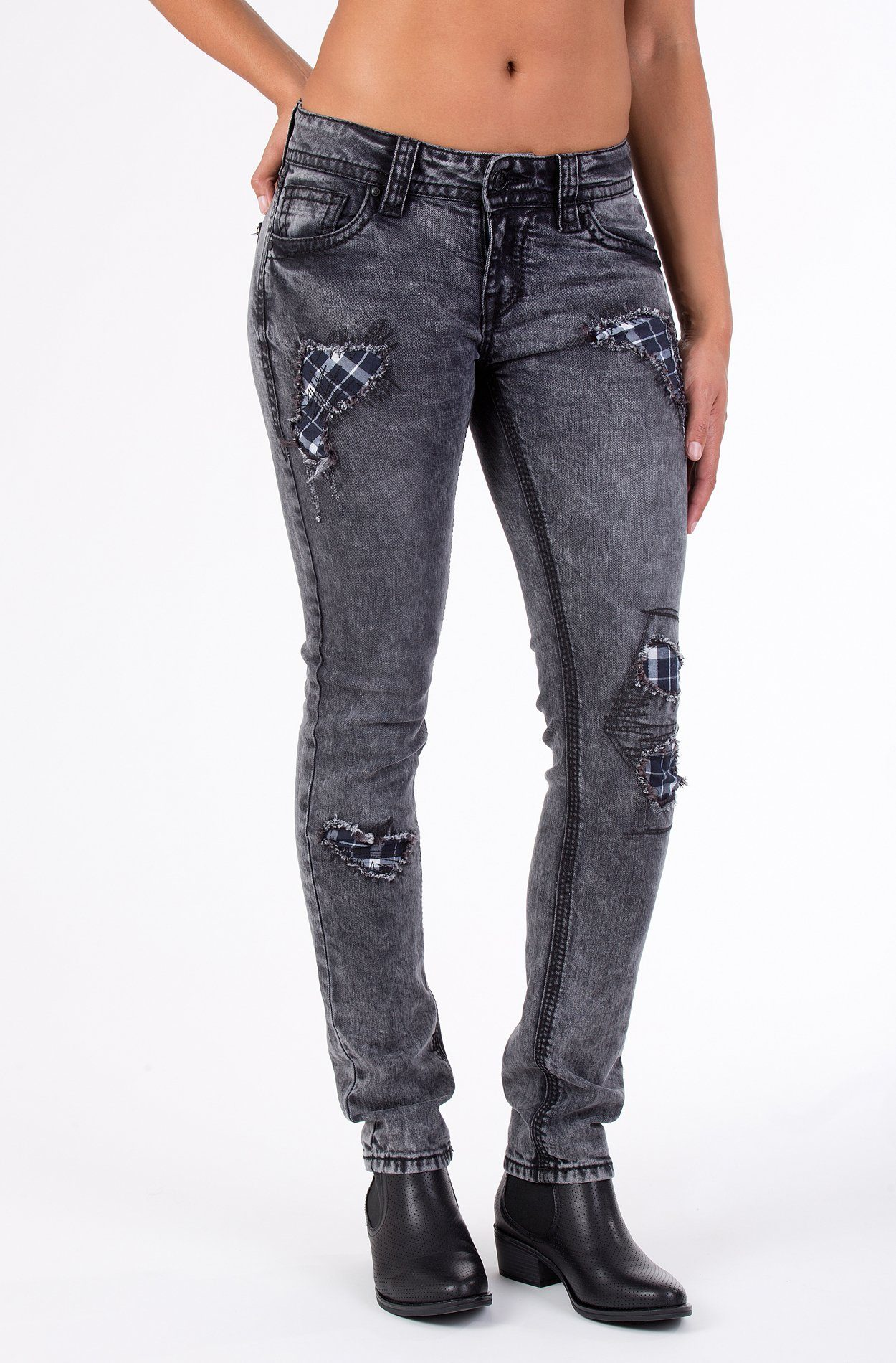 blue monkey -  Skinny-fit-Jeans Luna 3696