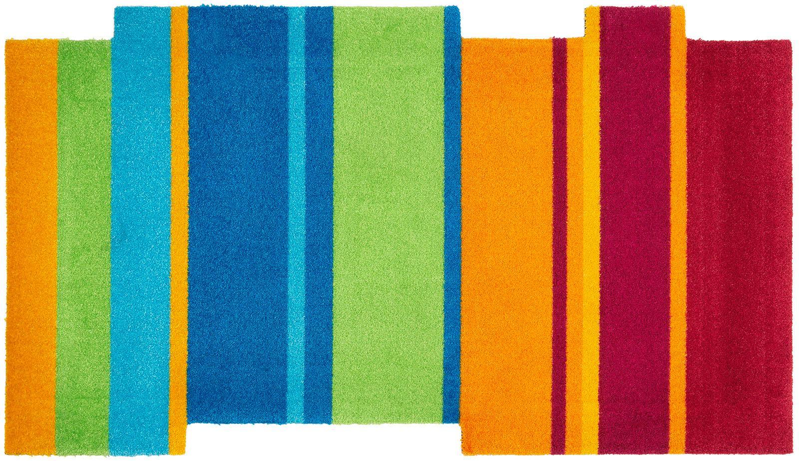 Teppich Dancing Steps wash+dry by Kleen-Tex stufenförmig Höhe 9 mm gedruckt