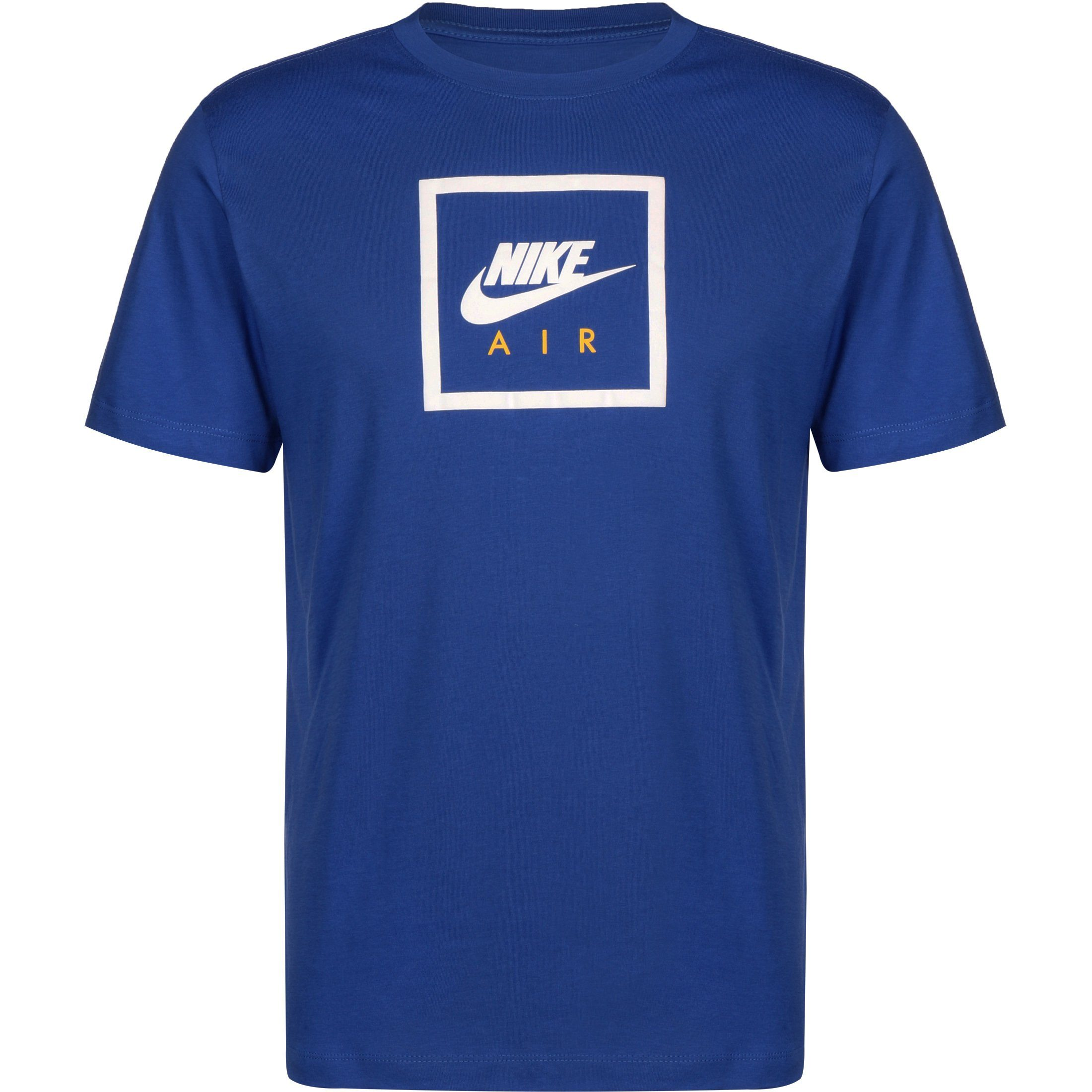 Nike Sportswear T-Shirt Air 2 | Sportbekleidung > Sportshirts > T-Shirts | Blau | Baumwolle | Nike Sportswear