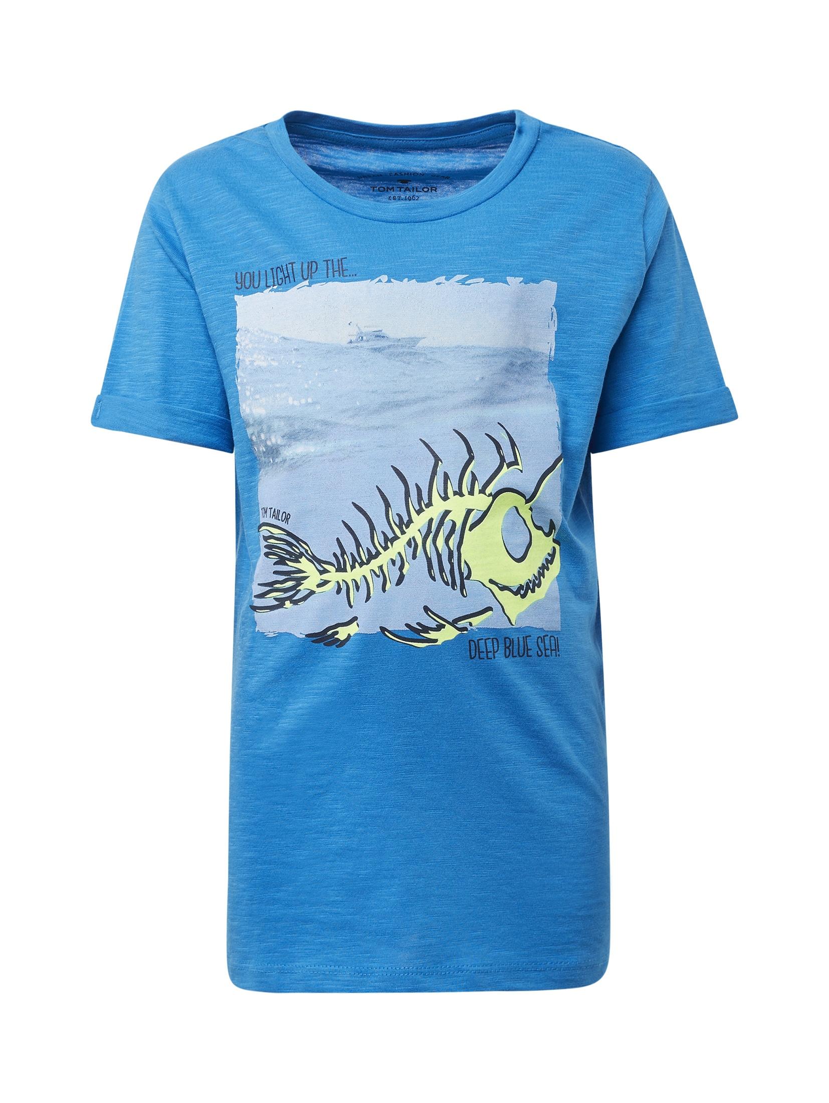 TOM TAILOR T-Shirt T-Shirt mit Brust-Print