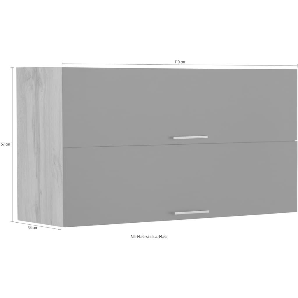 HELD MÖBEL Klapphängeschrank »Colmar«, 110 cm, mit Metallgriff, für viel Stauraum