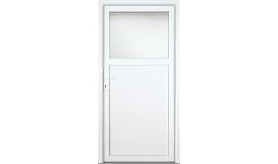 KM MEETH ZAUN GMBH Nebeneingangstür »K301D«, nach Wunschmaß, rechts oder links, mit Griffgarnitur kaufen