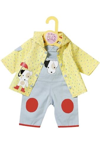 """Zapf Creation® Puppenkleidung """"Dolly Moda Latzhose mit Regenjacke 39 - 46 cm"""" kaufen"""