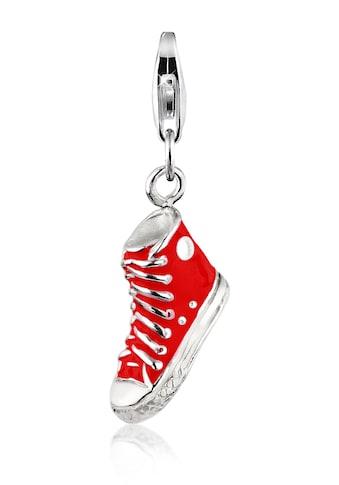 Nenalina Charm-Einhänger »Anhänger Turnschuh Sneaker Emaille 925 Silber« kaufen