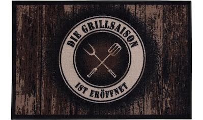 Andiamo Fußmatte »BBQ Grillsaison«, rechteckig, 3 mm Höhe, Fussabstreifer,... kaufen