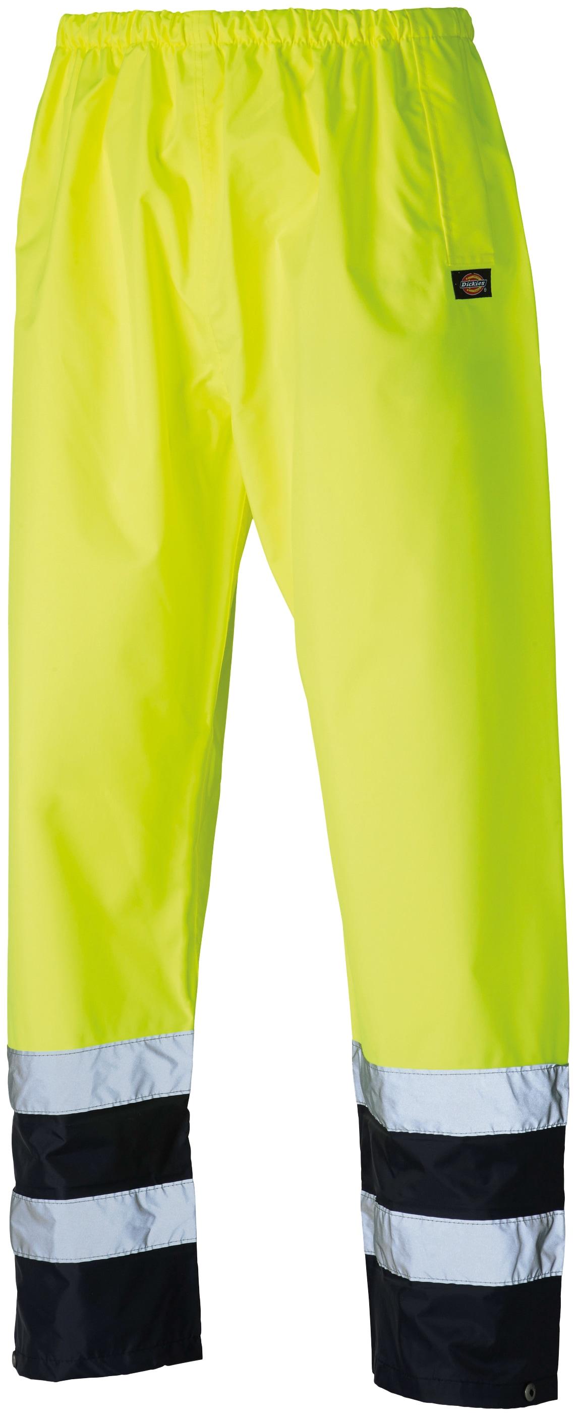 Dickies Arbeitshose Two Tone, Gr. M-XXXL, mit Taschen gelb Herren Arbeitshosen Arbeits- Berufsbekleidung