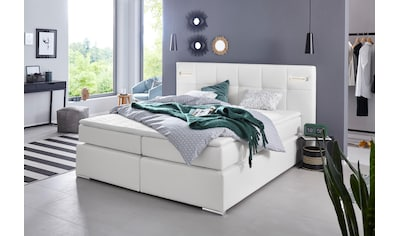 COLLECTION AB Boxspringbett »Dormante«, inkl. LED-Beleuchtung, Topper und Kissen kaufen