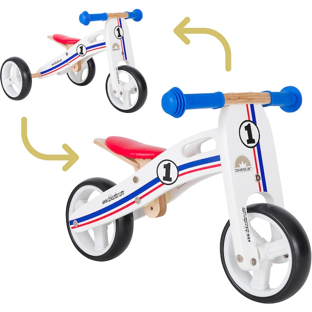 "Bikestar Laufrad ""2-in-1"", 7 Zoll"