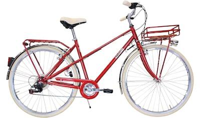 FASHION LINE Cityrad 6 Gang Shimano Kettenschaltung kaufen