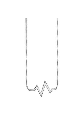 CAÏ Collier »925/- Sterling Silber rhodiniert Herzschlag«, Collier kaufen