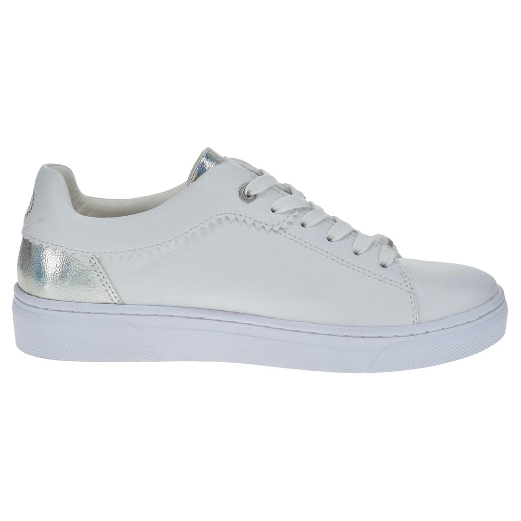 bugatti Sneaker »ELEA«, mit Kontrastbesatz in Metallicoptik
