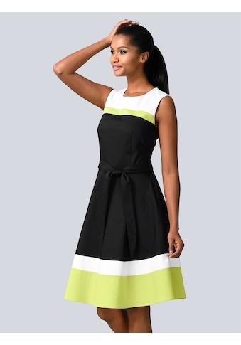 Alba Moda Kleid im modischen Colour-Blocking kaufen