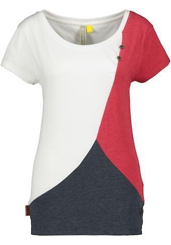 Alife & Kickin T-Shirt »ZoeAK«, auffälliges Shirt im Kontrast-Look kaufen