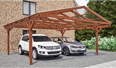 SKANHOLZ Doppelcarport »Westerwald«, BxT: 570x648 cm kaufen