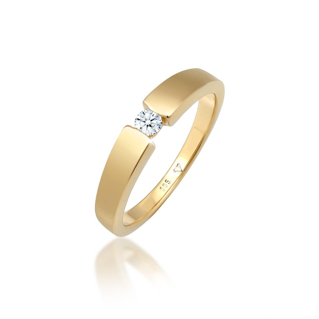 Diamore Verlobungsring »Verlobungsring Diamant (0.11 ct.) 585 Gelbgold«
