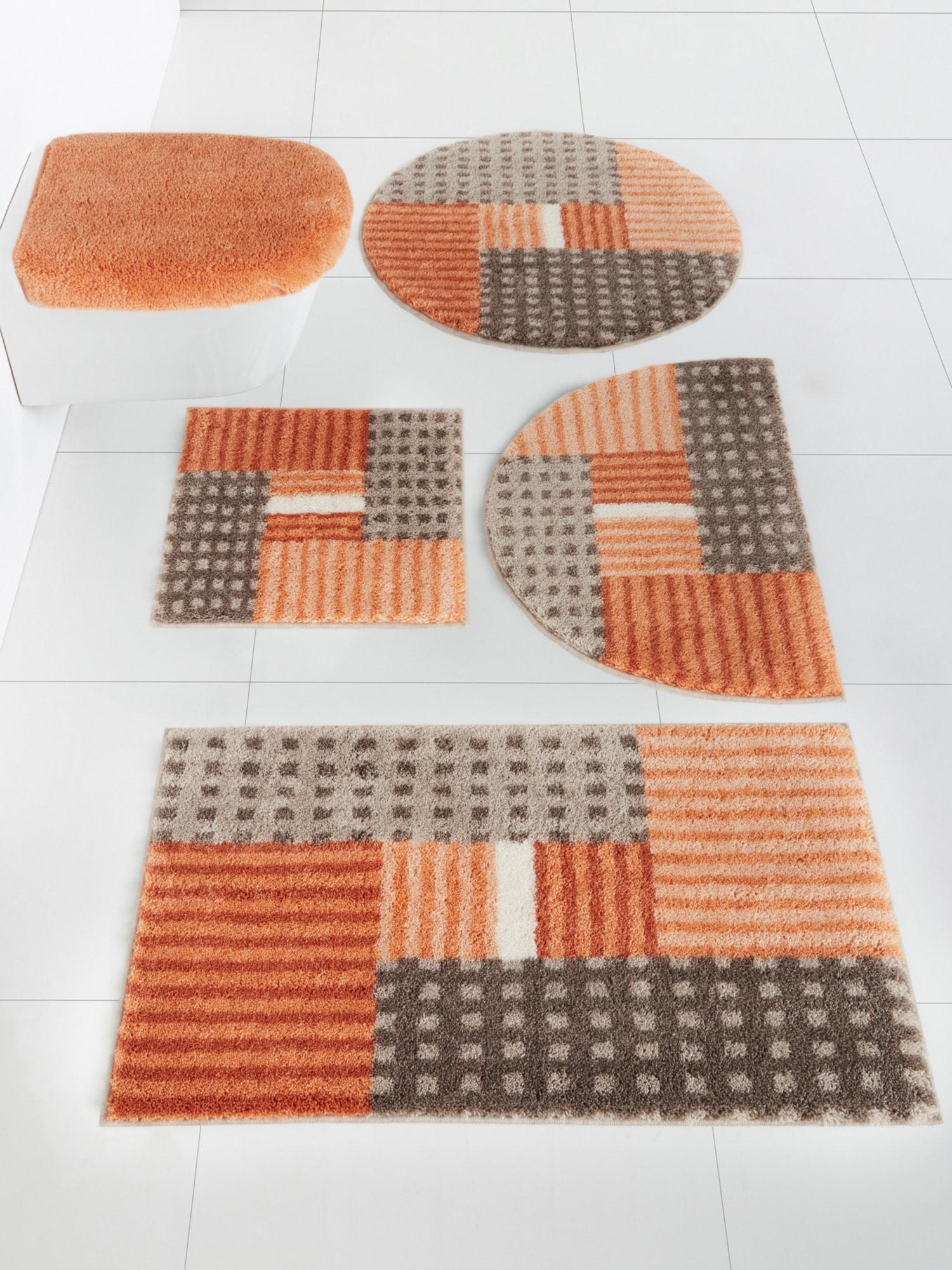 GRUND Badgarnitur | Bad > Badgarnituren > Badgarnituren-Sets | Orange | Grund