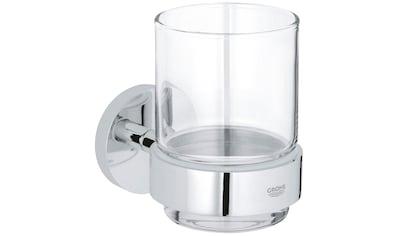 GROHE Zahnputzbecher »Essentials«, inkl. Glas kaufen