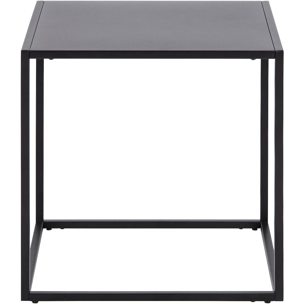 andas Beistelltisch »Vilho«, aus Metall, im minimalistischen Design, Breite 45 cm