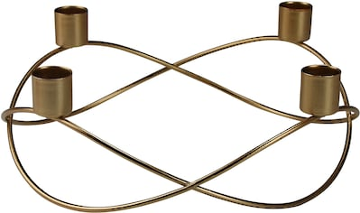 AM Design Kerzenhalter, Adventsleuchter, aus Metall, Höhe ca. 8 cm kaufen