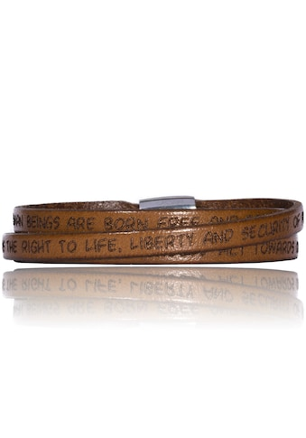 Gilardy Armband »Edelstahl Leder« kaufen