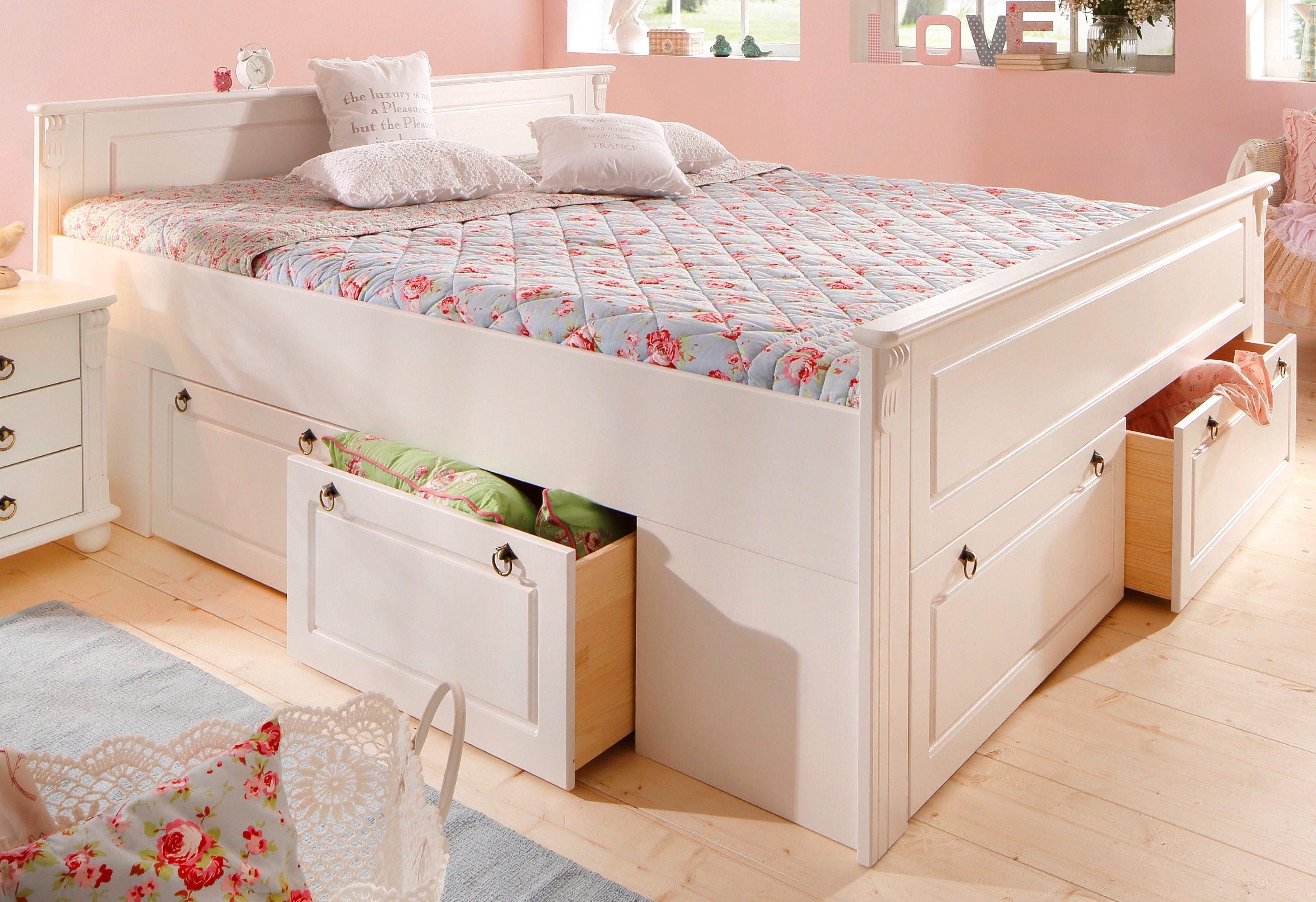 bett weiss 120x200 preisvergleich die besten angebote. Black Bedroom Furniture Sets. Home Design Ideas