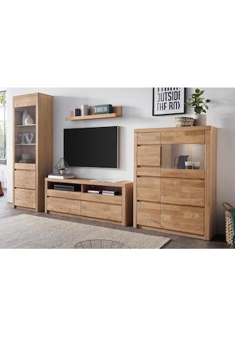 Woltra Wohnwand »Silkeborg«, (Set, 4 St.), teilmassives Holz kaufen