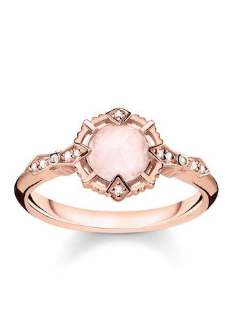 """THOMAS SABO Diamantring »Ring """"Vintage rosa"""", D_TR0043 - 925 - 26 - 48, 50, 52, 54, 56, 58, 60« kaufen"""
