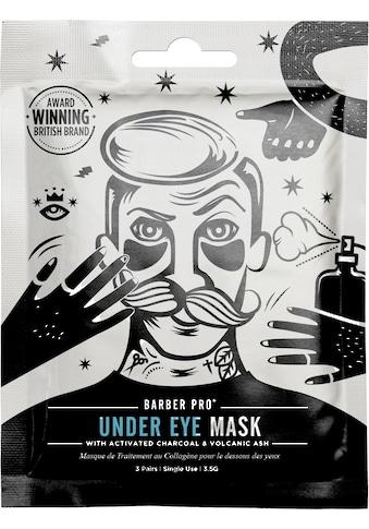 BARBER PRO Augenmaske »Under Eye Mask«, (Set, 3 tlg.), Anti-aging Hydrogel Pflaster kaufen