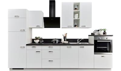 Express Küchen Küchenzeile »Bari«, mit E - Geräten, Breite 340 cm kaufen