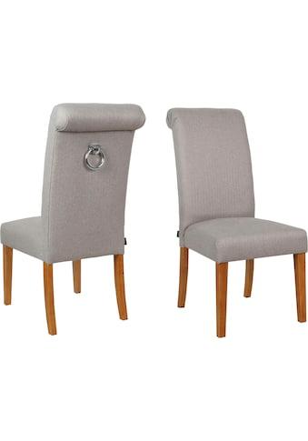 Home affaire Esszimmerstuhl »Fenris«, 2er-Set, mit gepolsteter Sitzfläche kaufen