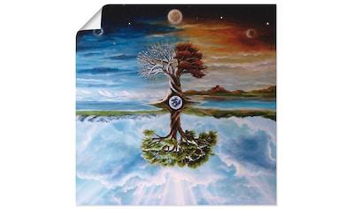 Artland Wandbild »Jahreszeitenbaum«, Vier Jahreszeiten, (1 St.), in vielen Größen &... kaufen