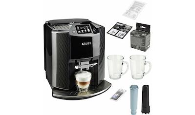 Krups Kaffeevollautomat EA9078 Barista New Age, Carbon, Espresso - Vollautomat, 1,9l Tank, Kegelmahlwerk kaufen