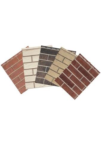 Baukulit VOX Verblendsteine »Vox Solid Brick Muster«, bunt kaufen