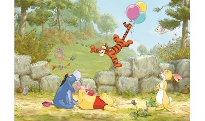 KOMAR Set: Fototapete »Winnie Pooh Ballooning«, Ausgezeichnet lichtbeständig kaufen