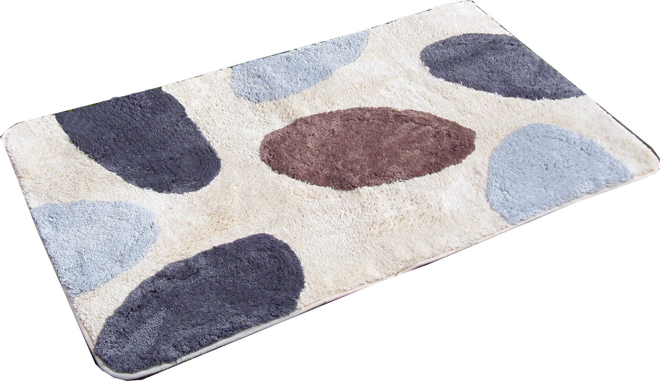Badematte »Paterna1«, KiNZLER, Höhe 20 mm, rutschhemmend beschichtet, fußbodenheizungsgeeignet | Bad > Badgarnituren > Badvorleger | Mikrofaser | KINZLER
