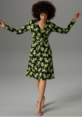 Aniston SELECTED Jerseykleid, mit Ausschnitt in Wickel-Optik - NEUE KOLLEKTION kaufen