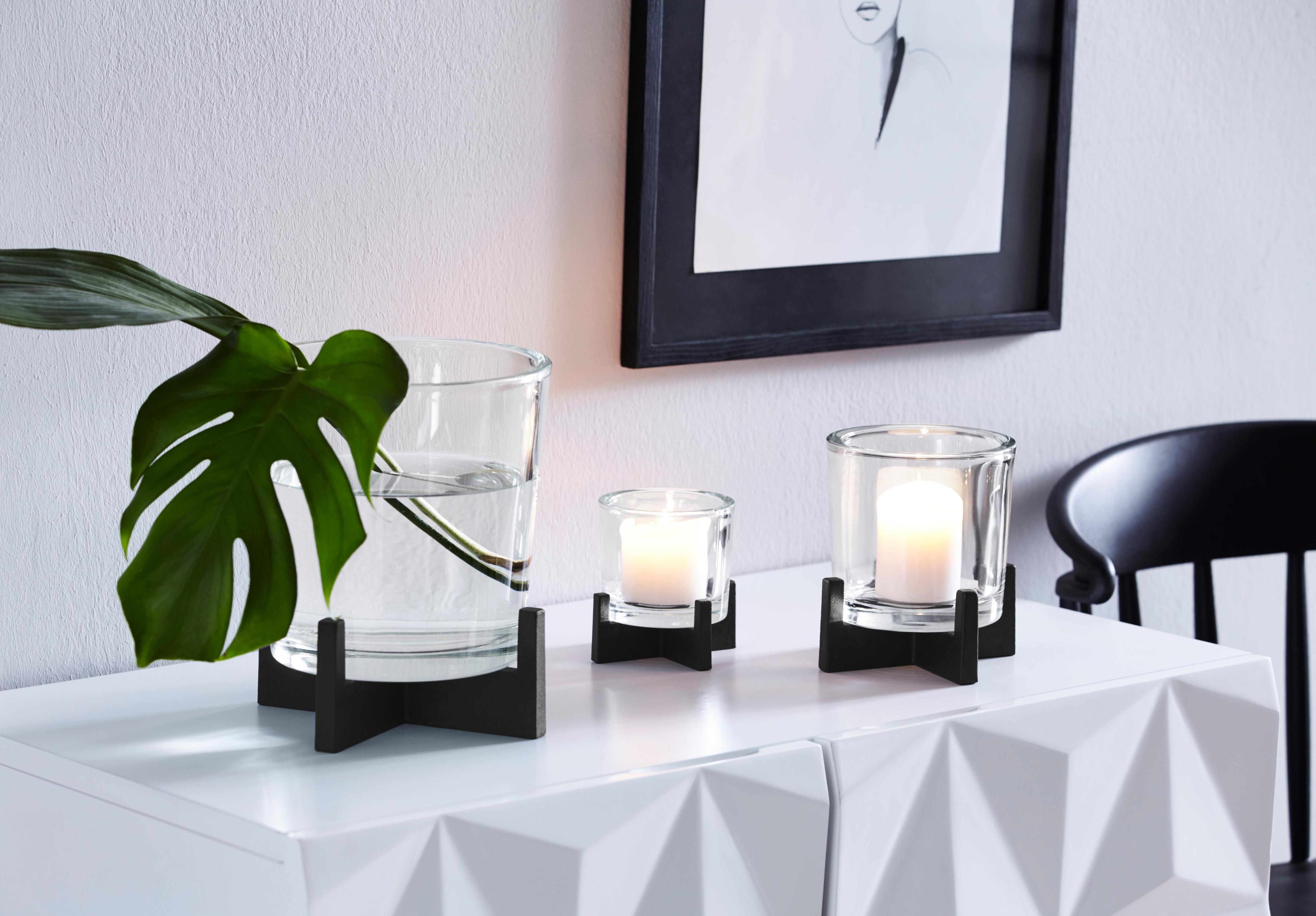 Schwarz glas windlichter online kaufen möbel suchmaschine
