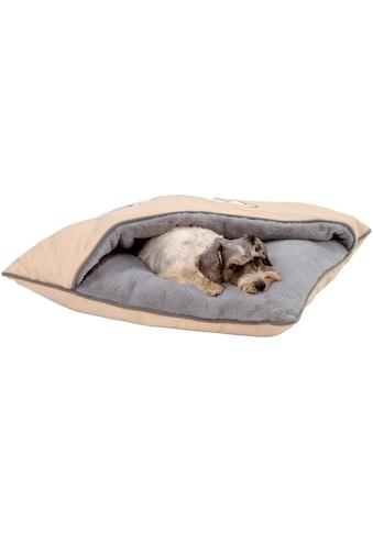 SILVIO design Tierbett »Snoopy«, Katzenhöhle, BxLxH: 70x70x15 cm kaufen