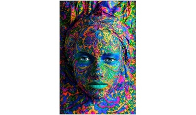 Art & Pleasure Acrylglasbild »Ornamental face«, Menschen kaufen