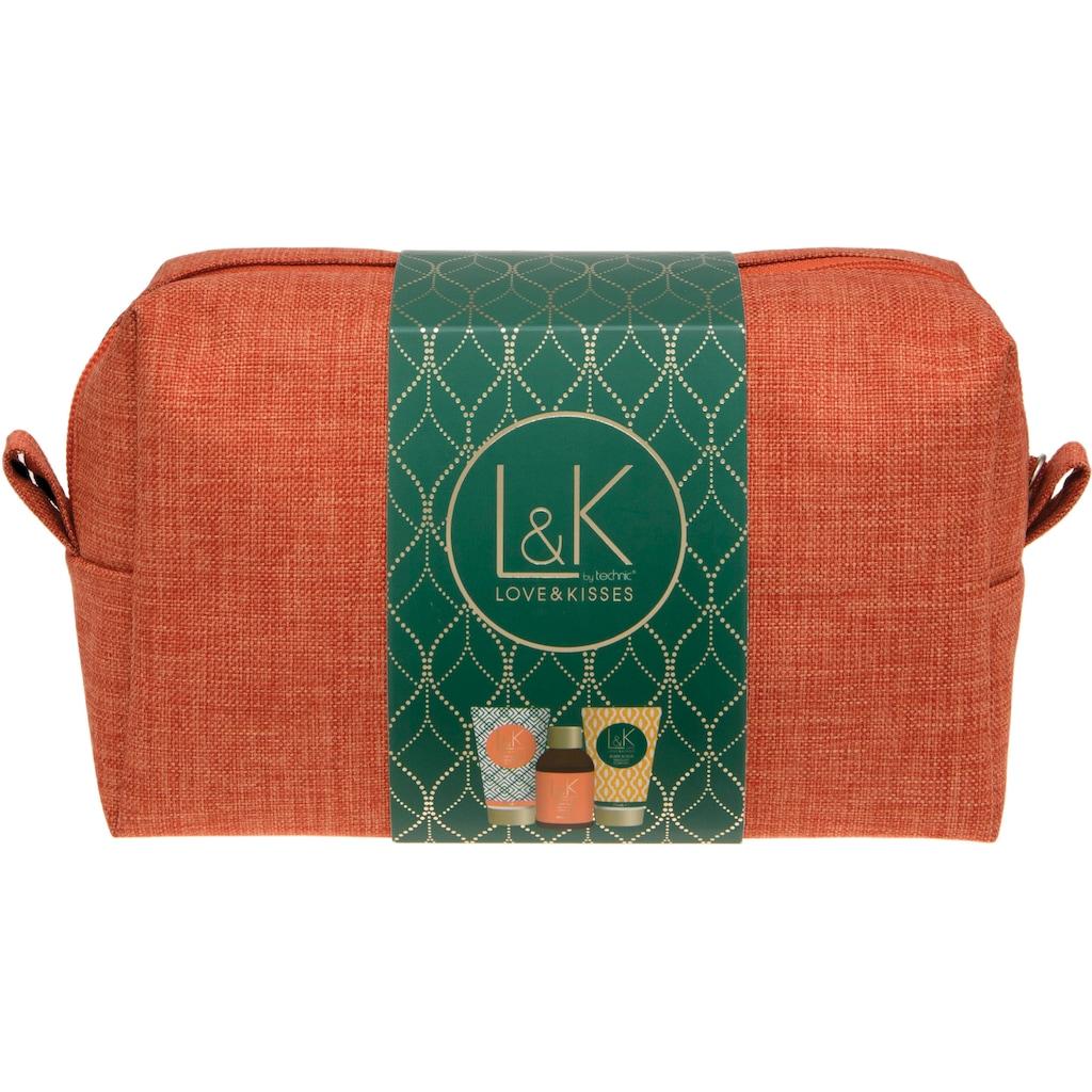 Hautpflege-Set »L&K - Travel Bag«, (4 tlg.)