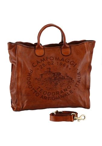 Campomaggi Shopper »Zamia«, mit großem Logo Print kaufen