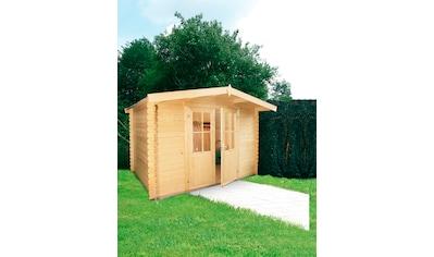 WOLFF FINNHAUS Gartenhaus »Lyon C«, BxT: 324x290 cm kaufen