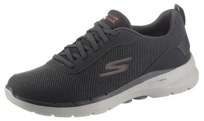 Skechers Slip-On Sneaker »GO WALK 6«, mit aufgesetzter Schnürung kaufen