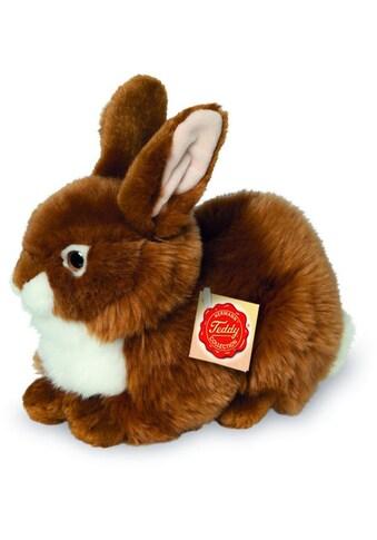 Teddy Hermann® Kuscheltier »Hase sitzend braun, 25 cm« kaufen