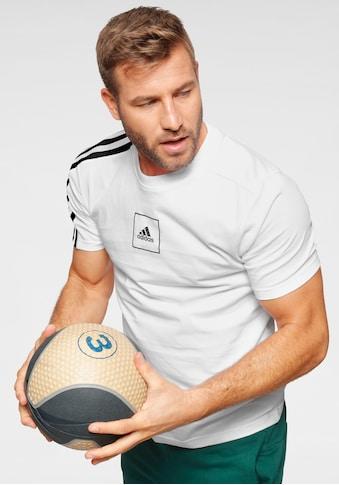 adidas Performance T - Shirt »MEN 3 STRIPES TAPE TEE« kaufen