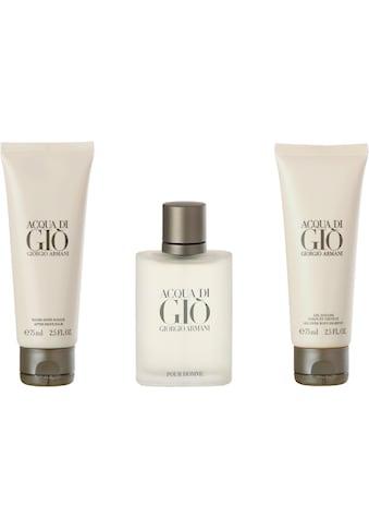 """Giorgio Armani Duft - Set """"Acqua di Gio"""", 3 - tlg. kaufen"""