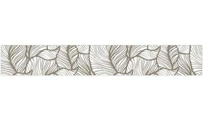 MySpotti Fensterfolie »Look Leaves beige«, halbtransparent, glattstatisch haftend, 200... kaufen