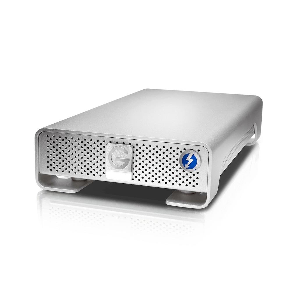 G-Technology externe HDD-Festplatte »Übertragungsgeschwindigkeit:bis zu 245MB/s«, G-DRIVE Thunderbolt USB3.0 10TB