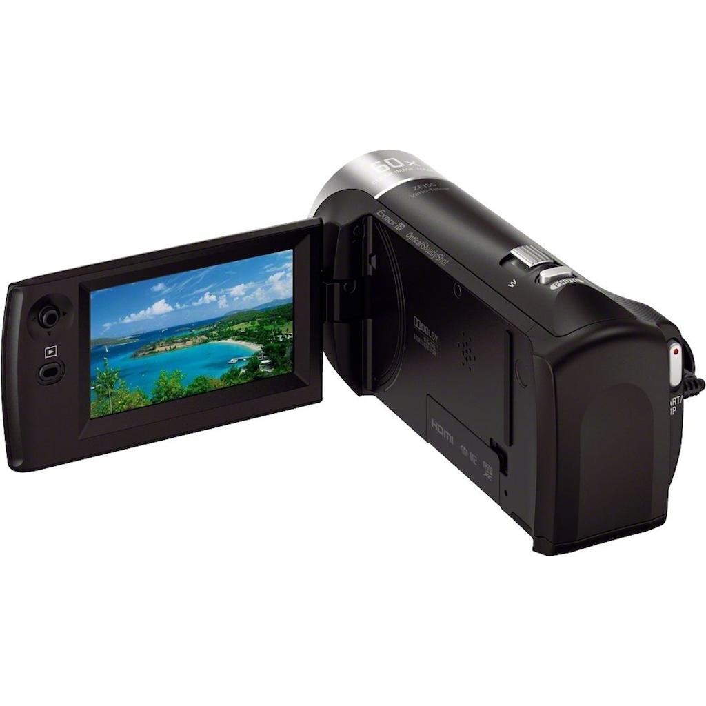 Sony Camcorder »HDR-CX405«, Full HD, 30x opt. Zoom, Leistungsfähiger BIONZ X Bildprozessor