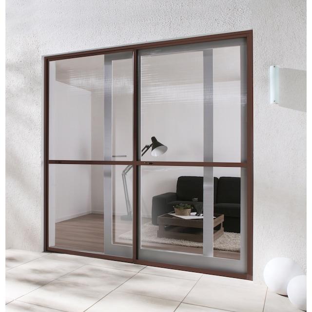 HECHT Insektenschutz-Tür »COMFORT«, braun/anthrazit, BxH: 240x240 cm